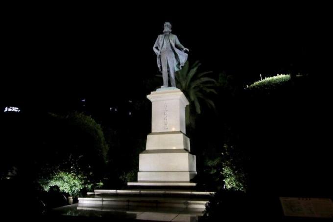 大久保利通公の銅像