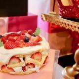 とろけるバニラクリーム ストロベリーケーキ