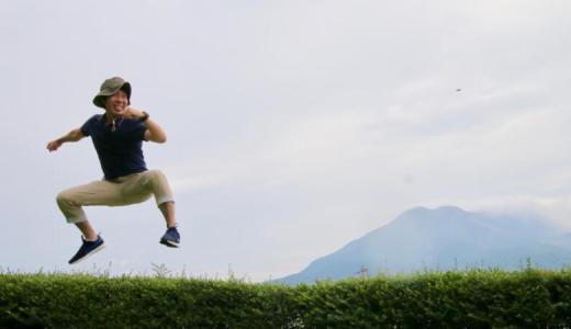 島津家別邸「仙巌園」で西郷どんジャンプ!【西郷どんさんぽ③】
