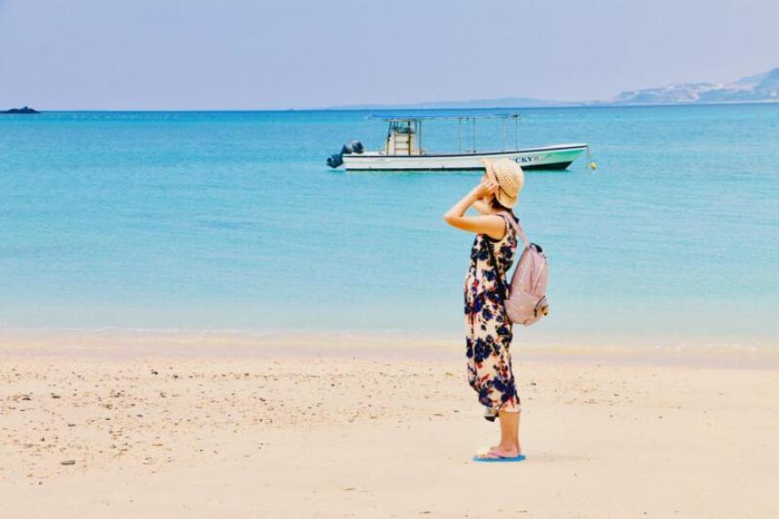 ザ・リッツ・カールトン沖縄専用ビーチ