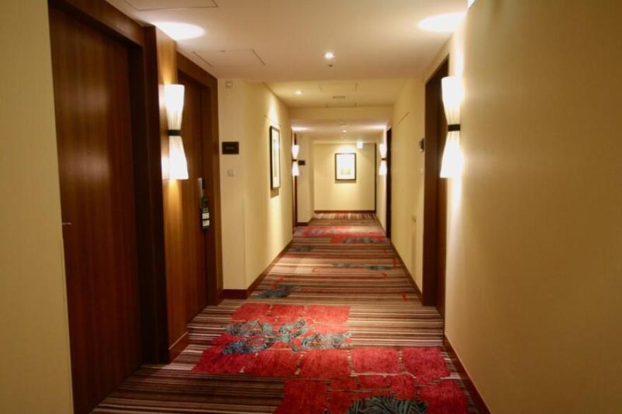 ホテル龍名館東京 廊下