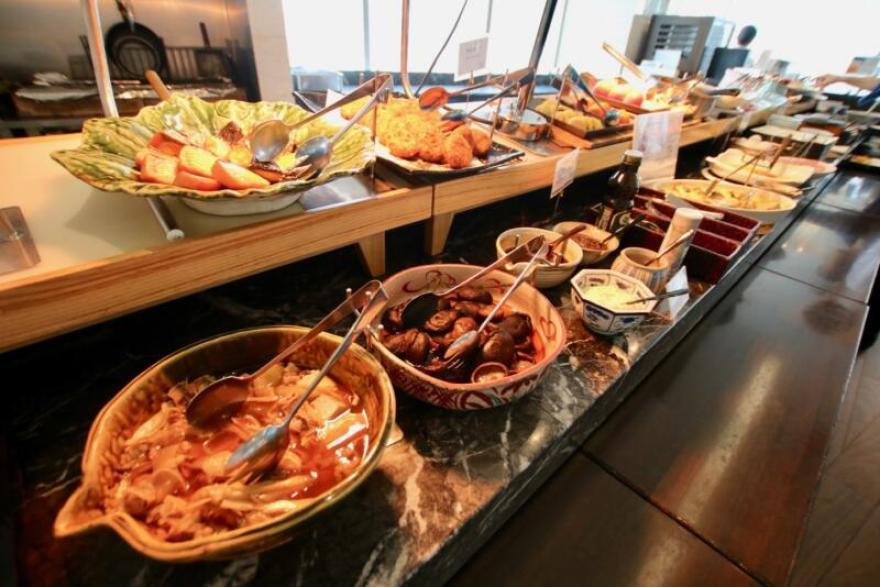 ホテル龍名館東京 JTB朝食アンケートで全国1位を獲得するし、「日本一の朝食シェフ」と称されるシェフの矢吹淳男さんがメニュー監修を担当