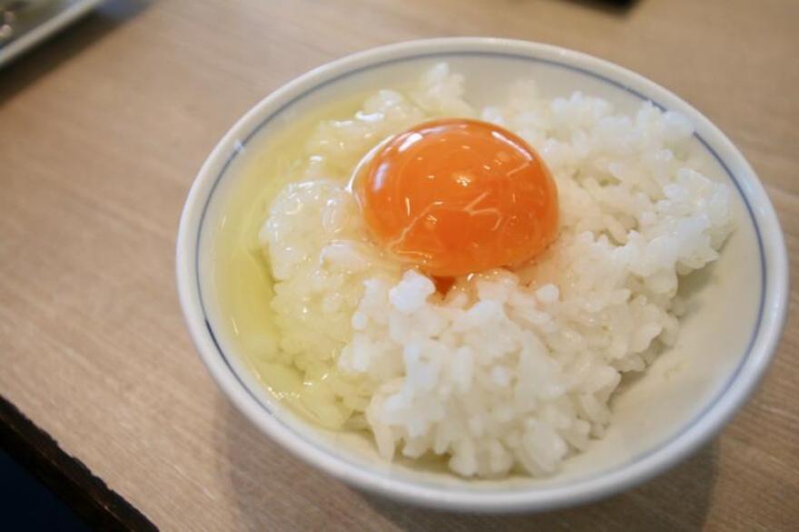 ホテル龍名館東京 「比内地鶏」の卵をTKG