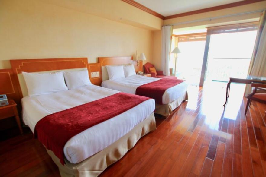 オキナワ マリオット リゾート & スパのスーペリアルーム/ハイフロアに無料グレードアップ