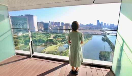 【宿泊記】メズム東京、オートグラフコレクションはバルコニーからのガーデンビューがおすすめ!