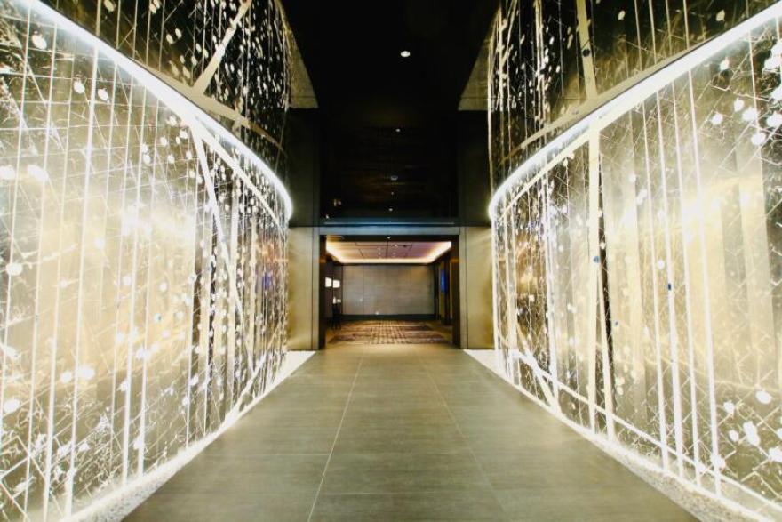 メズム東京、オートグラフコレクションの入り口