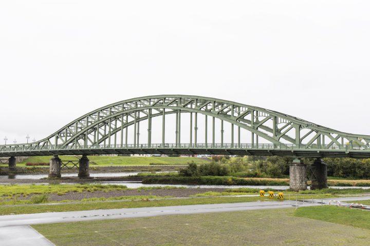 旭川のランドマーク「旭橋」。まさに!なフォルムです