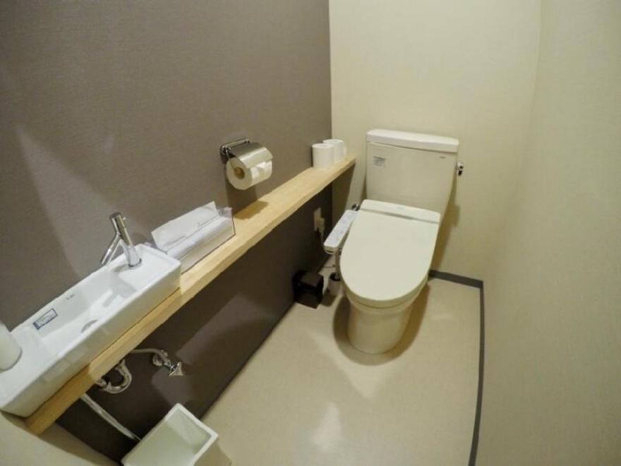 「宿屋まてまて」のトイレ