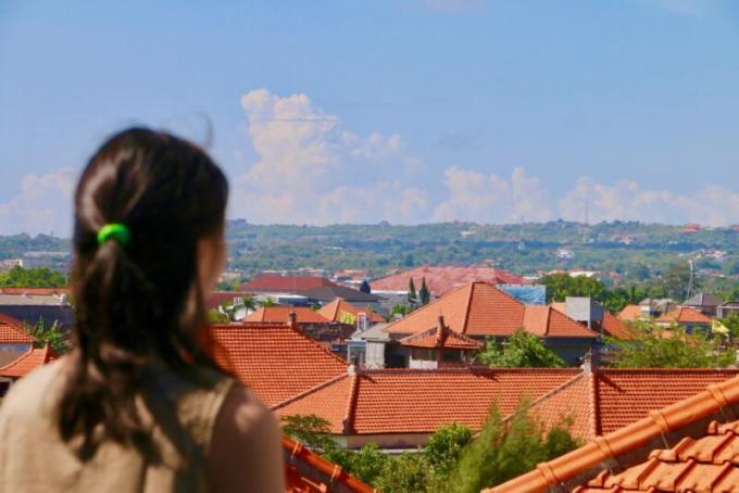 ウォーターマーク ホテル&スパ バリ ジンバラン 屋上からの風景
