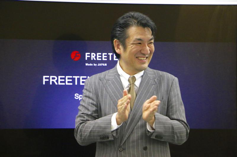 FREETEL増田社長