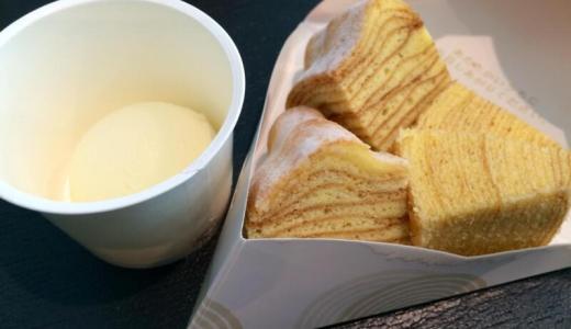【羽田空港第2ビル】アイスがトロリと「カフェねんりん家」でアイス付きバウムクーヘンを食べてきた