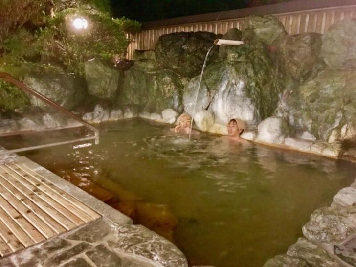 奥伊勢宮川温泉の露天風呂