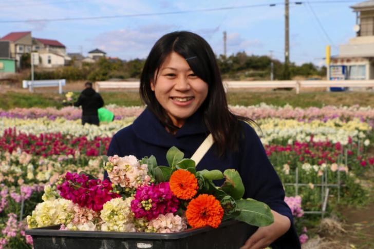 花摘み体験