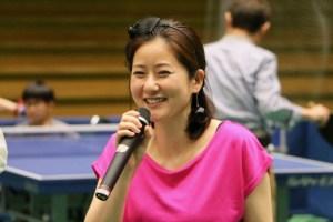 プロ卓球選手の四元奈生美さん