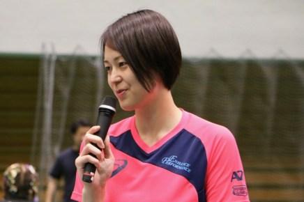 バレーボール女子元日本代表の大山加奈さん