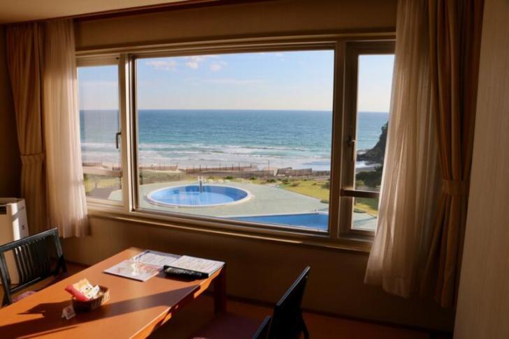 海側の洋室からの景色