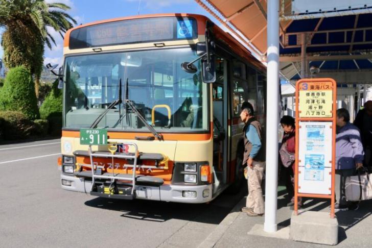 サイクルラックバス