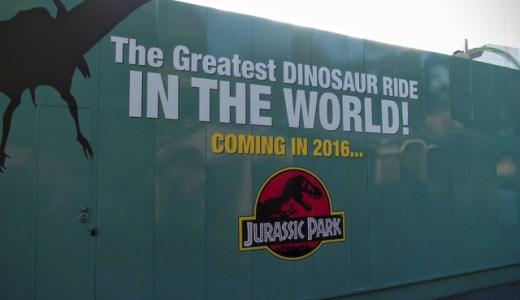 【ザ・フライング・ダイナソーは3/19オープン】USJ新ライドはジュラシック・ワールドがテーマのジェットコースター!