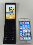 FREETEL MIYABIとiPhone6sサイズ比較