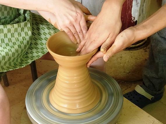 体験王国むら咲むら茶碗作り