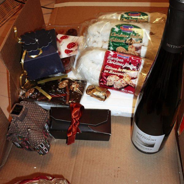 フランスからの贈り物 シュトーレン ワイン チョコレート キャンドルライト カヌレ