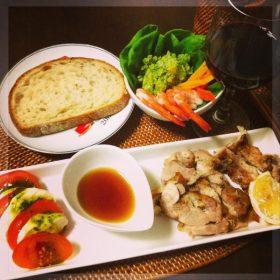 タイ風スパイシー焼き鶏のガイヤーン