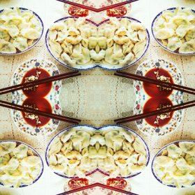 つぶ貝とエビ&ニラの贅沢餃子