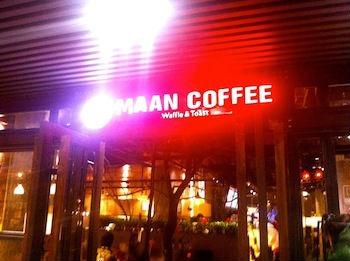 Maan Caffee In Dalian.