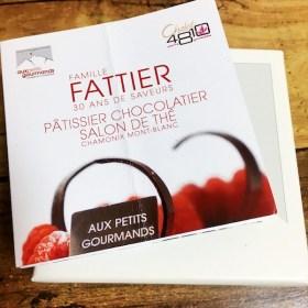CHAMONIXのチョコがフランスから届きました。