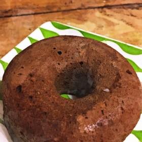 低糖質!奇跡のおからとココナッツフラワーのココアドーナツ