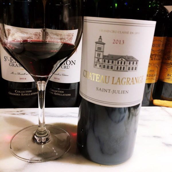 #Wine Chateau Lagrange Saint-Julien Chラグランジュ