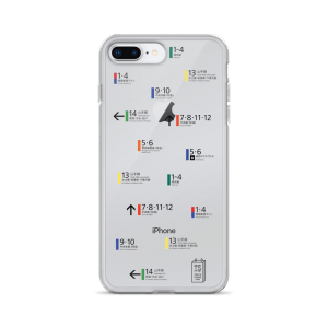 Shinjuku Station Signage - iPhone Case