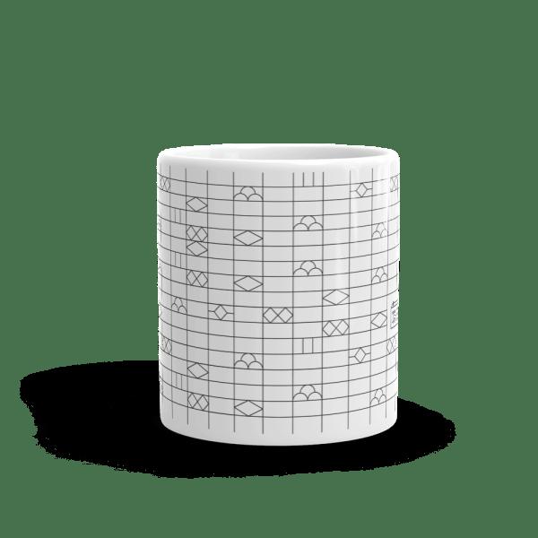 Japanese Brick Wall - Mug 11oz