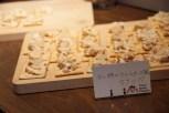 干し柿のクリームチーズ風カナッペ
