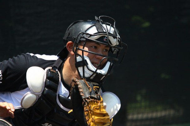 Masahiko Tanaka, the newest Swallow. Don't expect to see too much of him at Jingu.