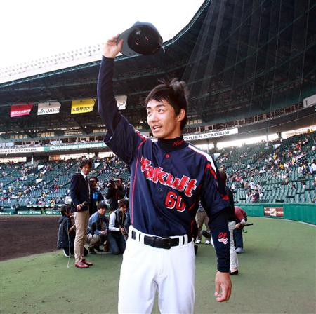 In what we hope turns into a long-term habit, Miwa drove in the winning run.