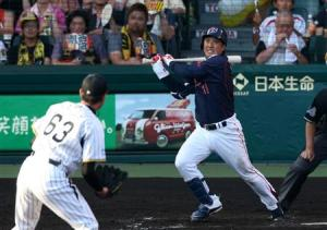 Yuichi's three-run blast in the 7th helped secure the win for Ogawa.