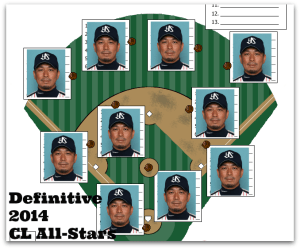 Dave Watkin's Definitive 2014 CL All-Stars
