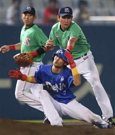 Ishikawa's questionable spin move ultimately did not factor in tonight's game.