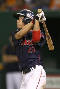 Tokyo's second baseman won game hero honors after his game-winning home run in the 11th.