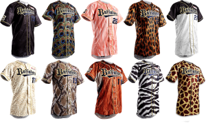 ... Or you can unleash your inner animal with these Orix unis.