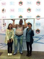 We met our first Russian strongman