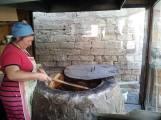 Bread baking in Azerbaijan
