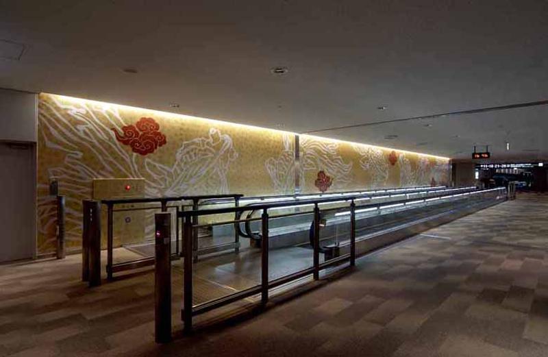 成田国際空港第一旅客ターミナル中央ビル空間コンセプト・建築空間デザイン/2007年 |