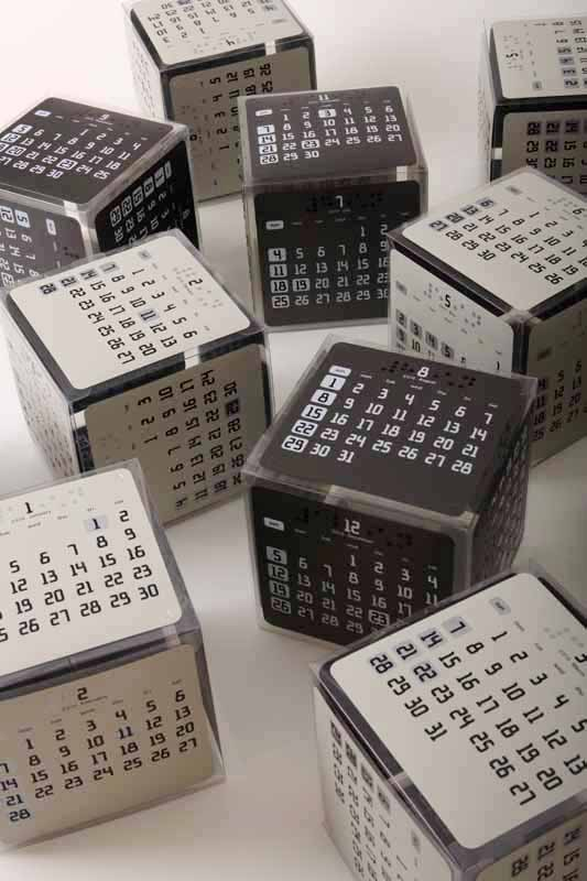 Calendar Cube / 2009 | Concept, Product, Graphic