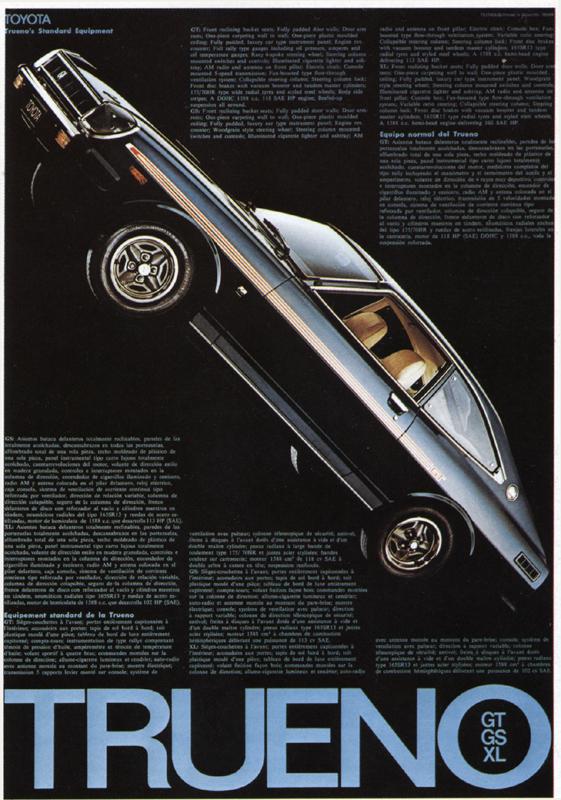 トヨタトレノ / 1976 | ポスター