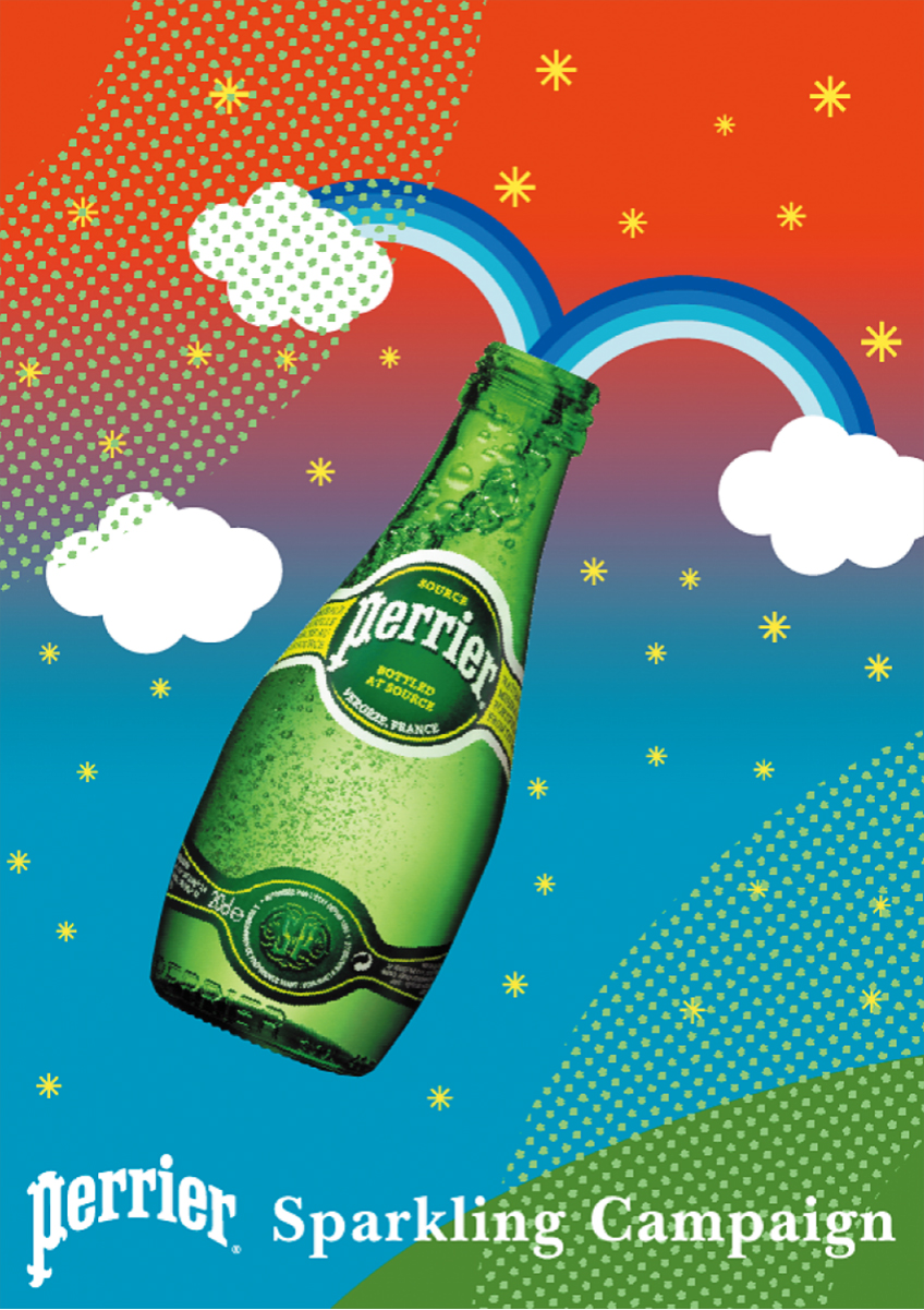 Perrier_Sparkling Campaign_Nestle / 2004 | Poster