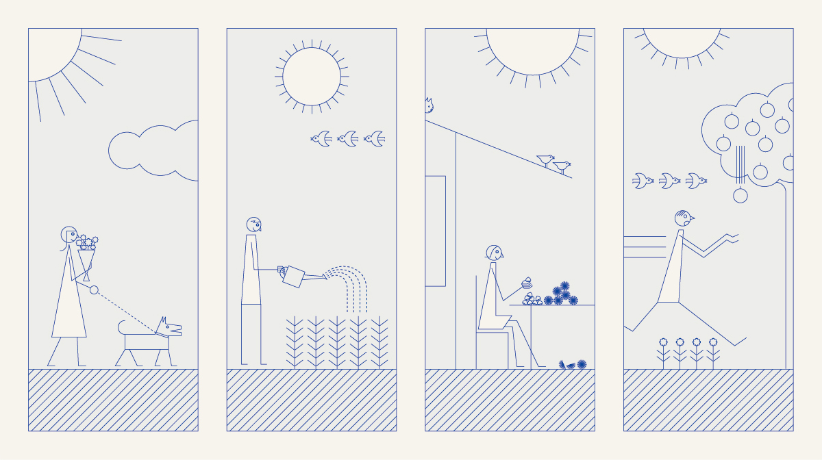 Sunny Days / 2015 | イラストレーション