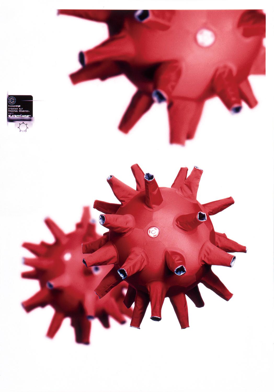 トリスタン・プラニーコ|Sabotage ロゴ&雑誌広告「Silver Cloud」