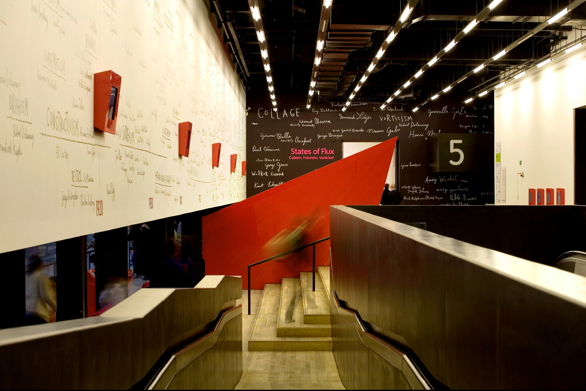 テート・モダン美術館 3F・5F コンコース / 2006年 | グラフィック